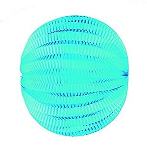 Tim & Puce 50214M - Farolillos Redondos (20 cm), Color Azul
