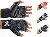 #5: Attack® Finger Cut Gym Gloves Weight Lifting Gloves / Bike Gloves - Universal Size Hand Gloves