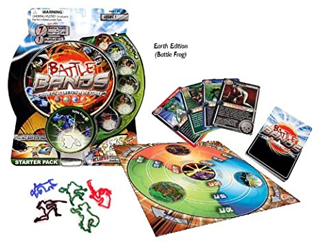 Battle Bands Series 1 Starter Pack Earth - Battle Frog