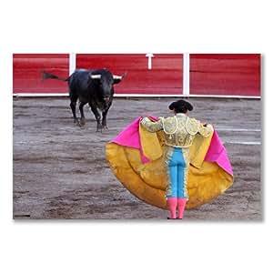 Affiche corrida Espagne :  SAN MARCOS FERIA ARENA B (maxi A2–40,7 x 61 cm/16 x 24 dans du Papier photo brillant)