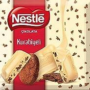 Nestle Çikolata Kurabiyeli Beyaz Çikolata 60 gr