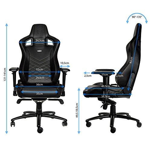 noblechairs EPIC Gaming Stuhl – schwarz/gold - 9