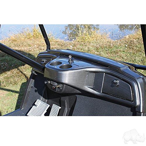 Yamaha Drive Custom Dash - Carbon Fiber by Parts Direct (Yamaha Golf Cart Parts)