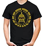 Battlestar Galactica Männer und Herren T-Shirt | Spruch Vintage Cylon Geschenk | M2 (XXL, Schwarz)