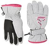 Ziener Mädchen Limonia Girls Gloves Junior Alpinhandschuhe, Light Melange, 3.5