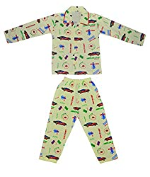 Smilee Full Sleeves Boys Night Suit