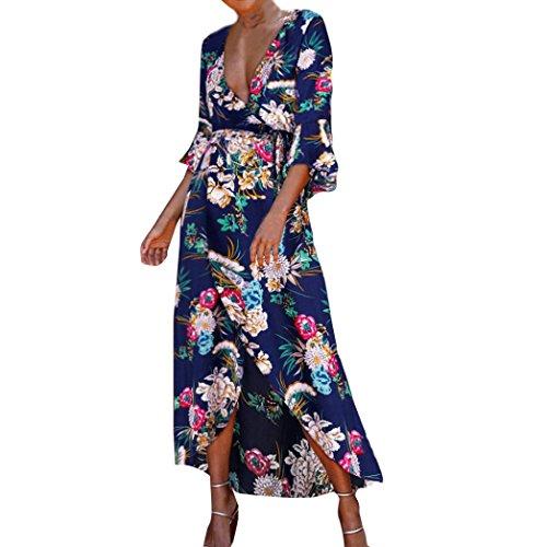 Modely Frauen Vintage Floraler Spitze Cocktail Ausschnitt Party A line Swing Dress Neckholder 1950er Vintage Retro Cocktailkleid Sommerkleid Festlich Partykleid /Ärmellos Knielang
