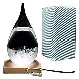 Previsioni meteorologiche di cristallo Previsioni del tempo Tempesta di vetro Creativo elegante Desktop Drops Storm Artigianato di vetro Meteo bottiglia Previsioni Barometro bottiglia