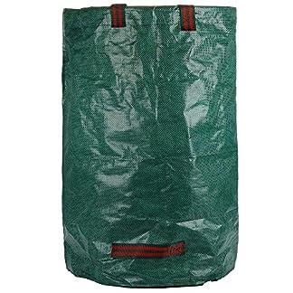 Bolsas para desechos de jardín Saco para residuos Bolsas de Basura de jardín y Saco de jardín Resistente Plegable Bolsas de Jardin Hechas de Tela de Polipropileno
