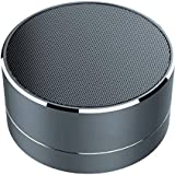 Blue Birds Wireless Super Bass Mini Metal Aluminium Alloy Portable Bluetooth Speaker With Mic, Led Light, Micro Sd Card Slot (Multi-Coloured) (Black, 3.1 Channel)