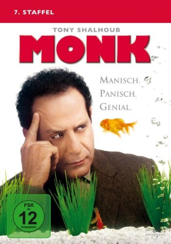 Monk - 7. Staffel [4 DVDs] (Michael Mcintyre Dvd)