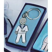 Llavero niño comunión GRABADO (pack 12 llaveros) detalles regalos PERSONALIZADOS para invitados