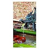 wandmotiv24 Türtapete Brunnen im japanischen Tempelgarten Tapete Tür Türaufkleber Türbild Aufkleber 100 x 200cm (B x H) - Dekorfolie selbstklebend