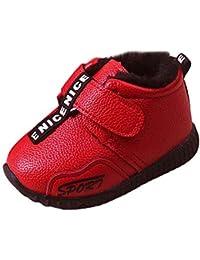 Botas Bebé Unisex,ZARLLE Botas de Nieve Zapatos para Niña Niño Invierno e Mantente Caliente