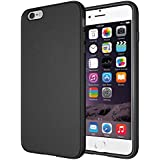 "Diztronic TPU completa Mate Soft Touch flexible para Apple iPhone 6 Plus & 6S Plus (5.5"") - Retail Packaging - Negro"