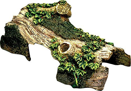Resin Ornament - Bent Log Hideaway Small by BLUE RIBBON PET PRODUCTS -