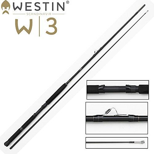 Westin W3 Inline 270cm MH 20-30lbs Trollingrute, Schlepprute zum Meeresangeln auf Meerforelle, Dorsch & Lachs, Angelrute zum Trolling, Rute zum Trollen vom Boot