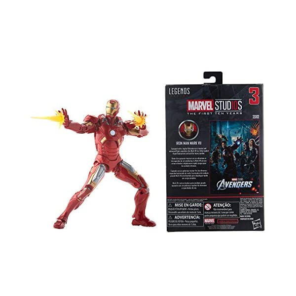Marvel Legends MCU The First Ten Years The Avengers Iron Man Mark VII 6