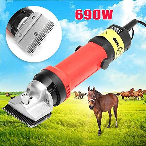ferdeschermaschine Schermaschine für Schafe Durch leicht wechselbare Köpfe für beide Tiersorten geeignet ()