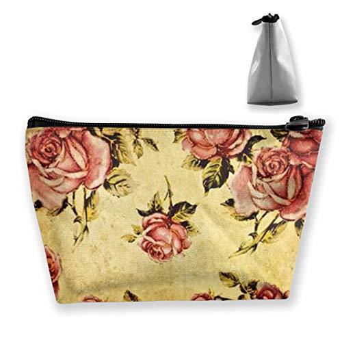 Rose1 Tixing Kosmetiktasche Reise Kosmetiktaschen Etui Stift Slim-duffle