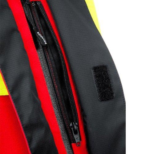 Pfanner wasserdichte Regenjacke mit Membrane 102089 Gelb/Schwarz