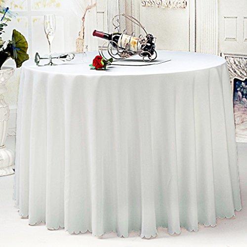 Nappe Nappe de table, Nappe d'hôtel, Nappe ronde blanche nappe ( taille : 300CM )