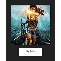 limitierte Auflage Fotodruck von Gal Gadot//Wonder Woman mit zertifiziertem aufgedrucktem Autogramm