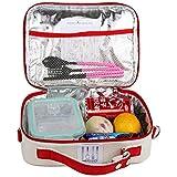 Ckeyin® Multifuncional Bolsa Nevera / Aislamiento Térmico para Mantener fresca Comida Conveniente Llevar (Rojo)