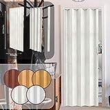 Jago-Porte Pliable en PVC, environ 203x 82cm, couleur chêne gris