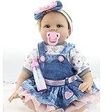 55 cm di silicone Reborn baby doll a mano realistica 22' Newborn bambola Baby Toys …