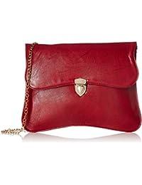 Fantosy Women's Sling Bag (Fnsb-028, Maroon)