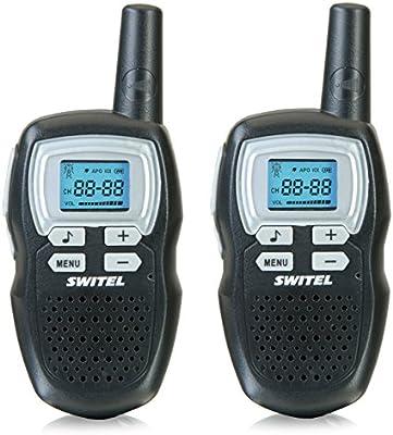 Switel WTE2310 juego de walkie-talkie (8 canales) negro