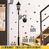 JKJND 3D Dreidimensionale Wandaufkleber Wohnzimmer Schlafzimmer Sofa Hintergrund Wanddekoration Aufkleber Raumaufkleber Kreative Selbstklebende Tapete, Schwarzlicht