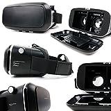 Máscara VR de realidad virtual cartón o plástico rígida para Samsung Galaxy J32017& 2016/J72017/J52017& 2016Smartphones–DURAGADGET