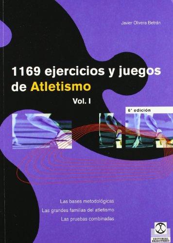 MIL 169 EJERCICIOS Y JUEGOS DE ATLETISMO (2 VOL.) (Deportes) por Javier Olivera Betrán