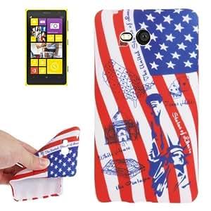 USA Flag Pattern TPU Case for Nokia Lumia 820