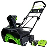 Greenworks Pro 80 V 50,8 cm Snow Thrower W/2ah Batterie et Chargeur
