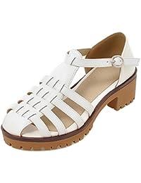 Coolcept Mujer Moda Heel Sandalias  Zapatos de moda en línea Obtenga el mejor descuento de venta caliente-Descuento más grande
