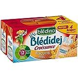 Blédina blédidej brique de lait et céréales biscuité saveur miel 4x250ml dès - ( Prix Unitaire ) - Envoi Rapide...