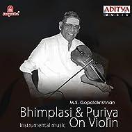 Bhimplasi & Puriya on Violin