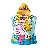 Baby Boys Girls Accappatoio Asciugamano da Bagno con Cappuccio Morbido Toddler Bambini Cartoon Animali Pigiama Indumenti da Notte Accappatoio di Cotone Wrap Shower Gift 1-5 Anni