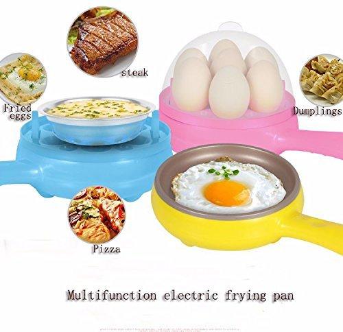 Egab 7 Egg Cooker Non-stick Electric Frying Pan(Multicolour)