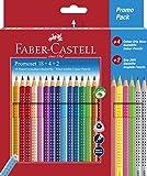 Faber-Castell 201540 - Set promozionale Colour Grip 18+4+2