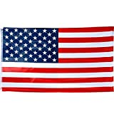 TRIXES Large USA Flag American Stars and Stripes 5ft x 3ft Flag Sporting Events July 4th