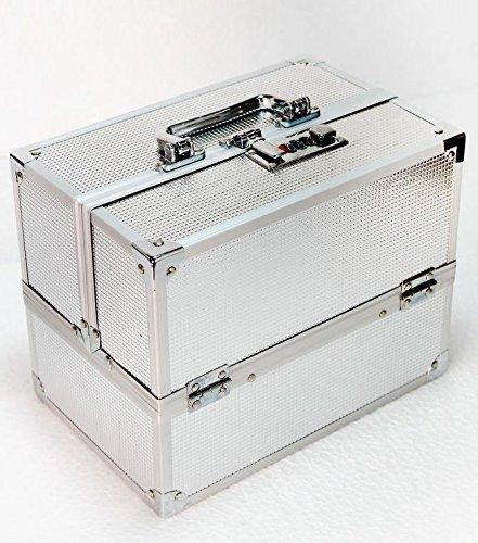 BSGS Wedding Bridal Silver Make up Box/Vanity Box