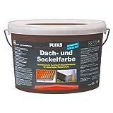 Pufas Dach- und Sockelfarbe Acrylatfarbe      5,000 L