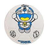 #6: Lionbuzz White Doraemon Kids Football - Size 3, Synthetic, 1 Football and 1 Needle ,White