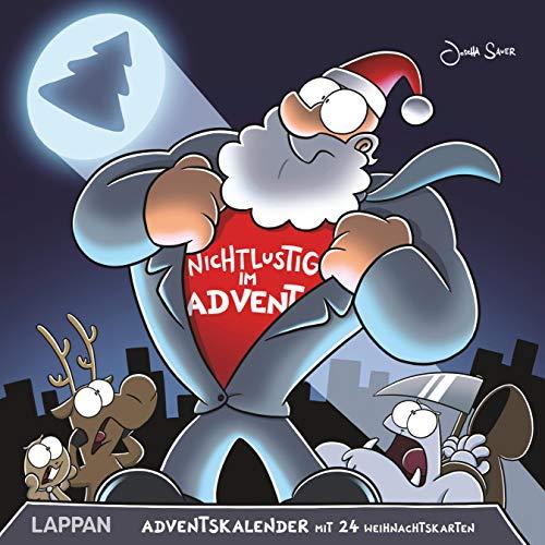 Nichtlustig im Advent 2019: 24 Cartoon-Weihnachtskarten!