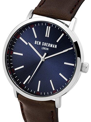 Ben Sherman Herren-Armbanduhr Analog Quarz WB061UBR