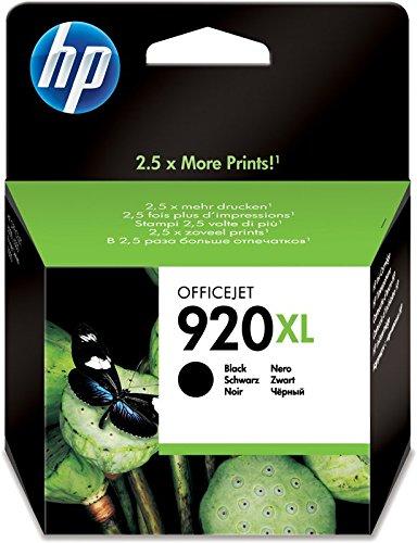 Preisvergleich Produktbild Hewlett Packard [HP] No. 920XL Inkjet Cartridge Page Life 1200pp Black Ref CD975AE#BGX